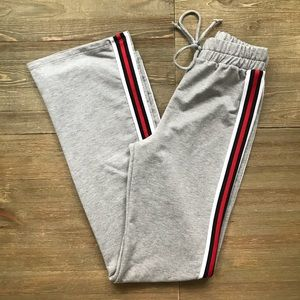 Windsor Pants & Jumpsuits - Windsor High Waist Side Stripe Sweatpants